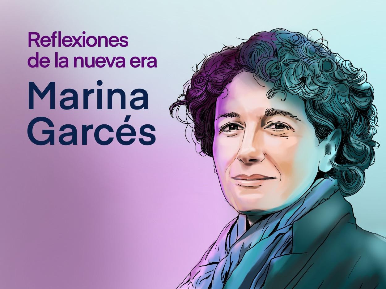 Marina Garcés. Ilustración Pol Rius